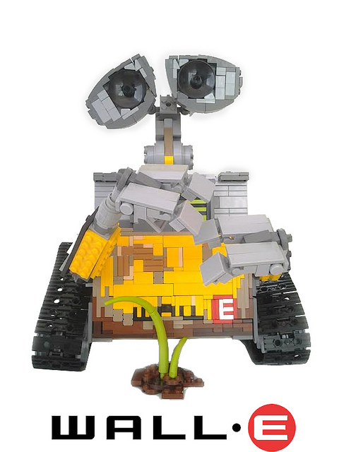 wall e the lego car blog. Black Bedroom Furniture Sets. Home Design Ideas
