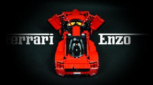 Lego Enzo Ferrari