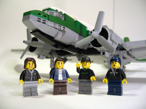 Lego Buffalo Airways Ice Pilots DC-3
