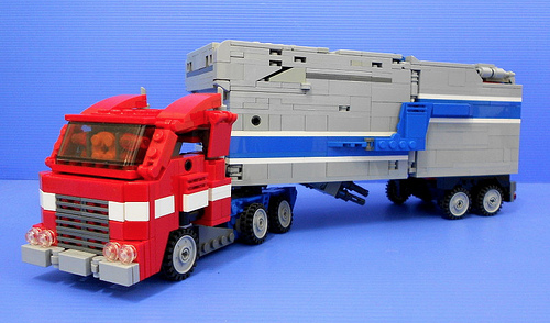 Lego Optimus Prime Powermaster