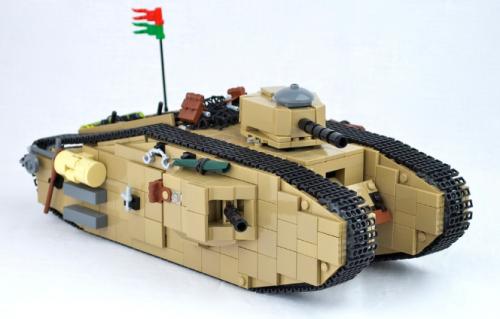 Lego Mark VIII Tank Indiana JonesLego Army Tank