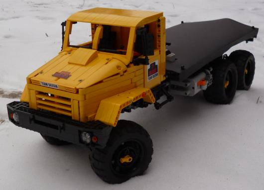 Lego Truck Trial KRAZ 6233