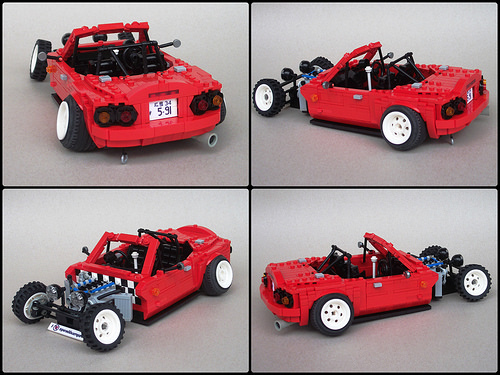 Lego Monster Miata