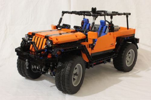Lego Technic 8110 Jeep 4x4