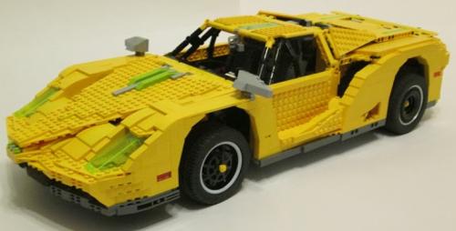 Lego Technic Ferrari RC