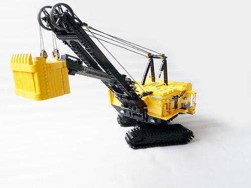 Lego Cat Excavator