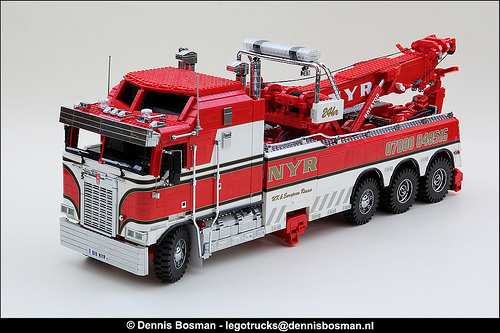 Lego Kenworth Wrecker