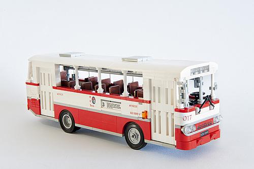 Lego Town Bus