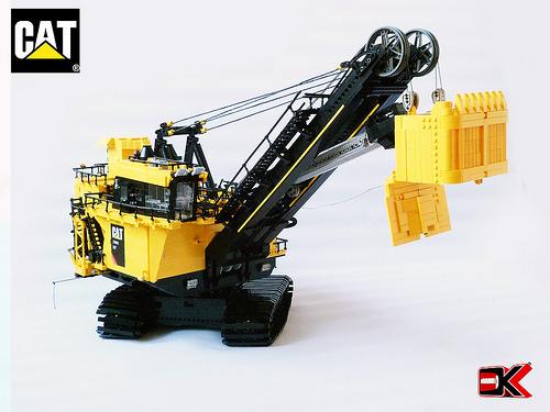 Lego Technic Cat Excavator The Lego Car Blog
