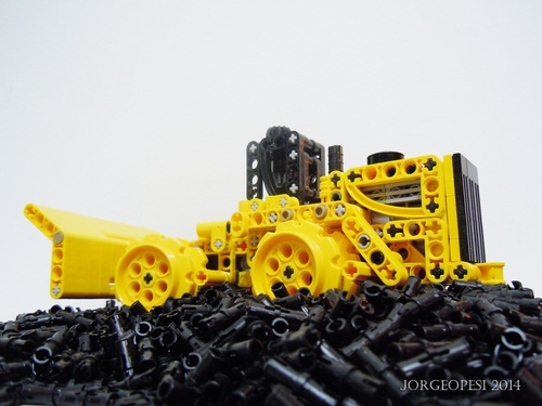 Lego Landfill Compactor