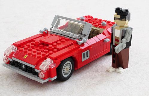 Lego Ferrari 250 GT SWB Ferris Beuller