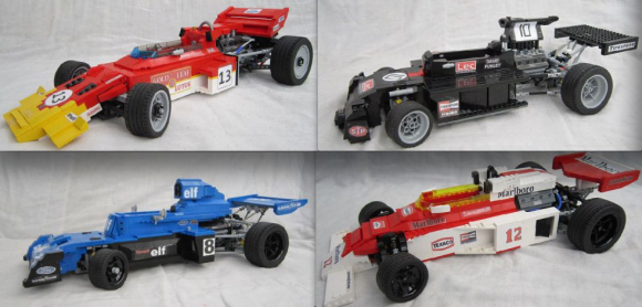 Classic Formula 1 Lego