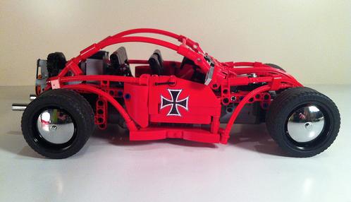 Lego Red Baron Hot Rod