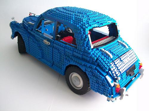 Lego Morris Minor 1000