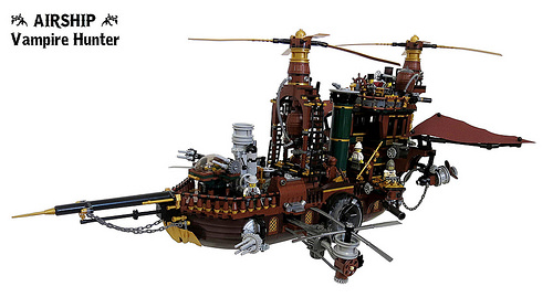 Lego Steampunk Vampire Hunter
