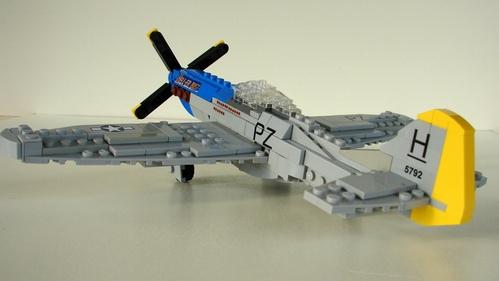 Lego P-51D Mustang