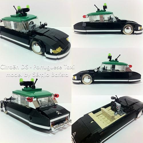 Lego Citroen DS Taxi