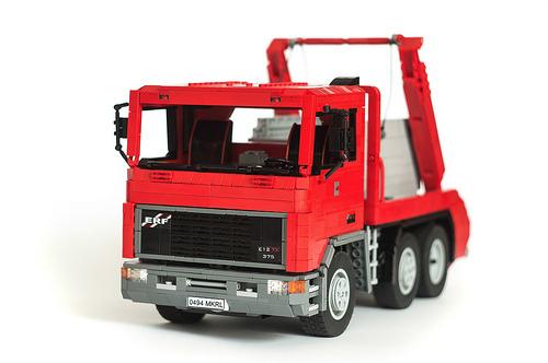 Lego Skip Lorry