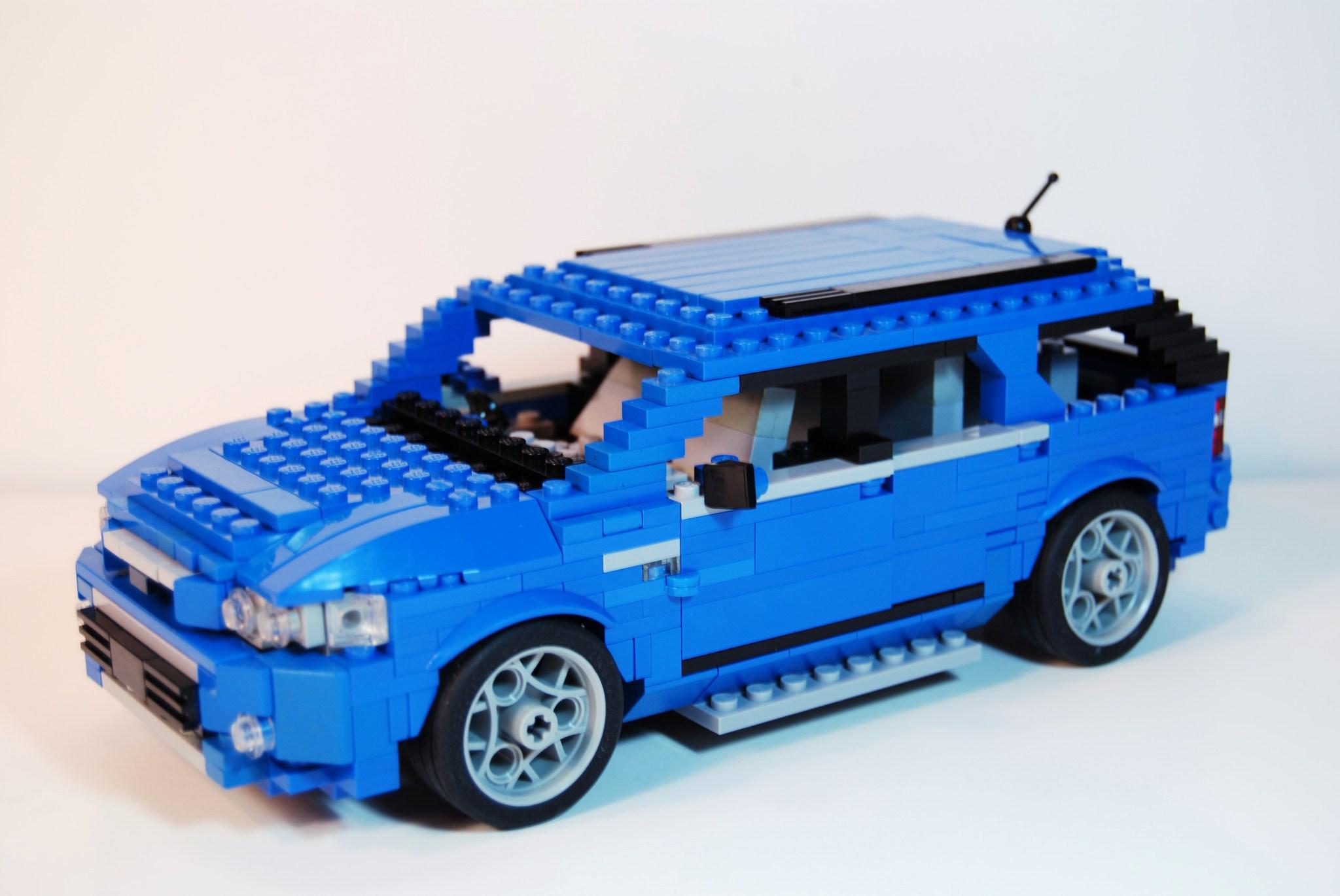 Lego Ford Territory 2009 The Lego Car Blog