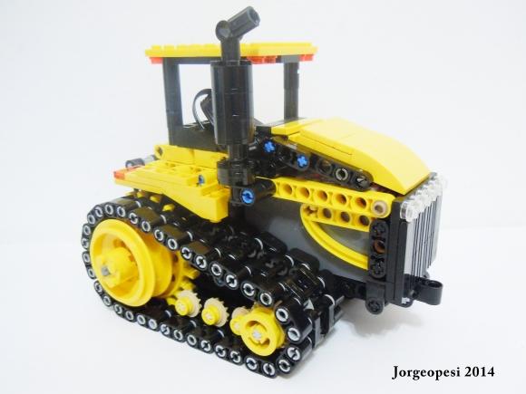 Lego Cat Tractor