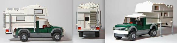 Lego Pick-Up Truck Camper