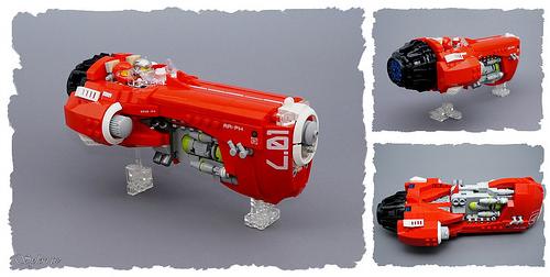 Lego GARC Space Racer