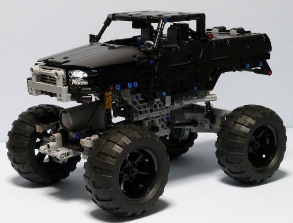 Lego 4x4 Truck Trial