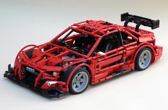 Lego Technic Audi RS5 DTM