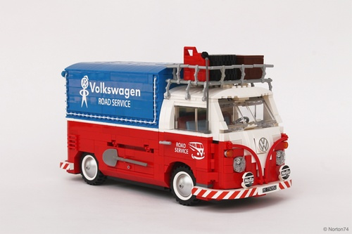 lego 10220 vw t1 the lego car blog. Black Bedroom Furniture Sets. Home Design Ideas
