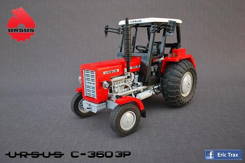 Lego Technic Ursus Tractor