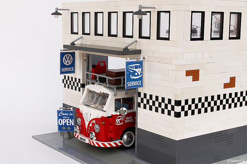 Volkswagen Garage Life Picture Special The Lego Car Blog
