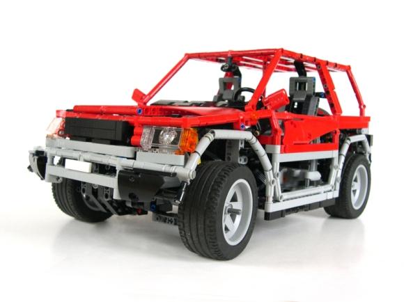 Lego Mitsubishi Shogun Pinin
