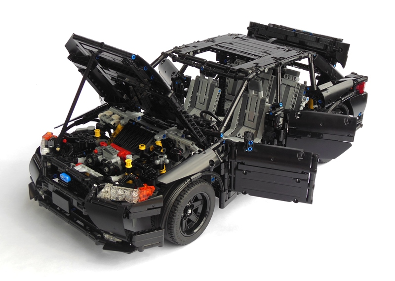 lego technic subaru impreza wrx the lego car blog. Black Bedroom Furniture Sets. Home Design Ideas
