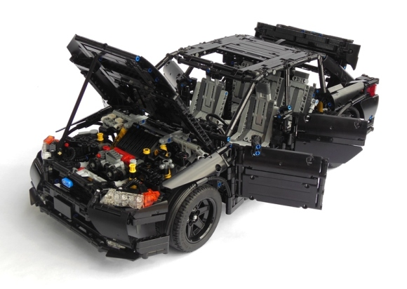 Lego technic Subrau Impreza WRX