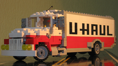 Lego -U-Haul Truck