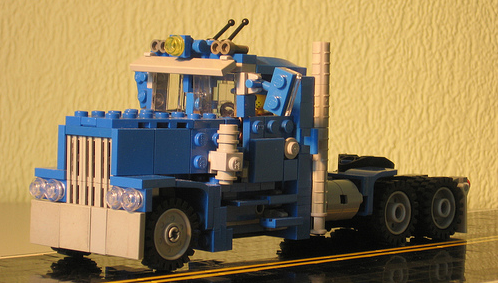 Lego Long-Nose Truck