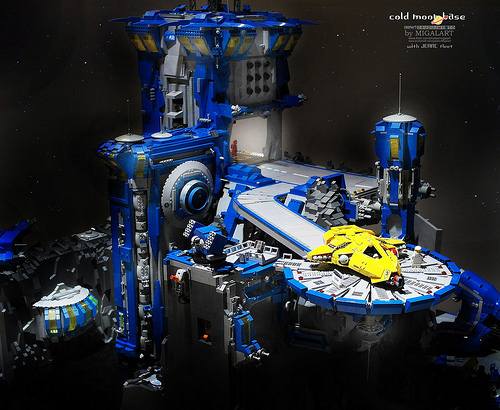 Lego Moon Base