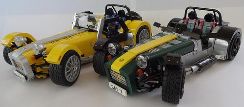 Lego Caterham Super 7
