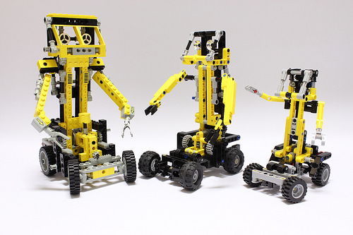 Lego Technic 8852 Robot | THE LEGO CAR BLOG