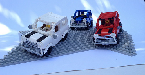 Lego The Italian Job