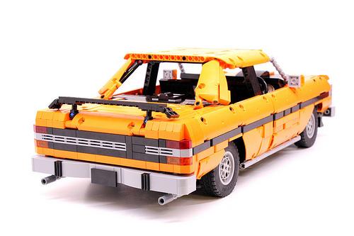 Lego Ford Falcon GTHO