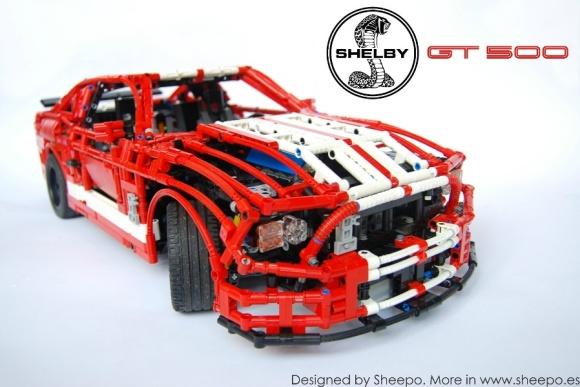 Lego Mustang GT500 Sheepo