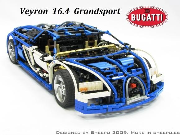 Lego Bugatti Veyron Sheepo