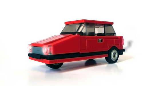 Lego Reliant Robin