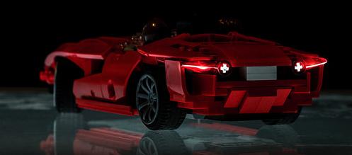 Lego RC Concept Car