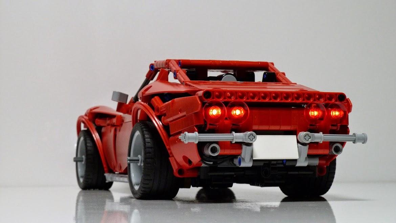 lego technic corvette stingray the lego car blog. Black Bedroom Furniture Sets. Home Design Ideas
