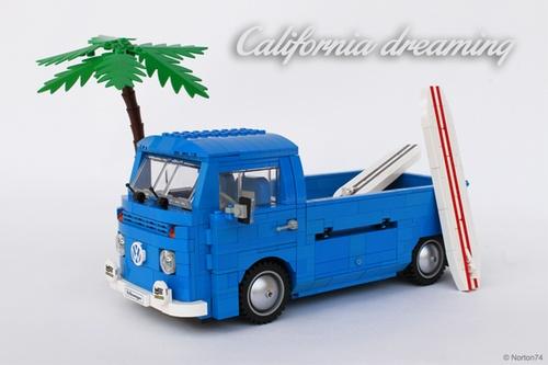 Lego VW T2 Surf