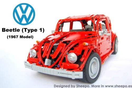 Lego Technic Volkswagen Beetle