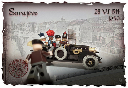 Lego Assassination of Franz Ferdinand