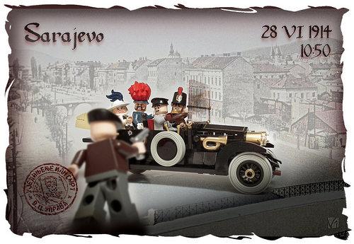 Lego Assassination of Franz Ferdinand